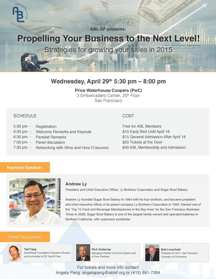ABL panel: Propelling Your Business to the Next Level!